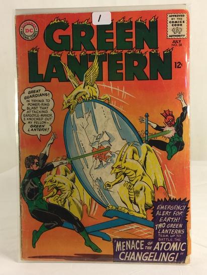 Vintage DC Superman National Comics Green Lantern Comic No.38