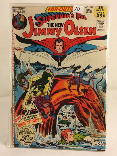 Vintage DC Superman Comics Superman's Pal The New Jimmy Olsen Comic No.144