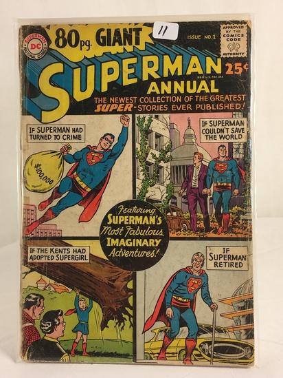Vintage DC Superman National Comics 80 pg Giant Superman Annual Collection No.1