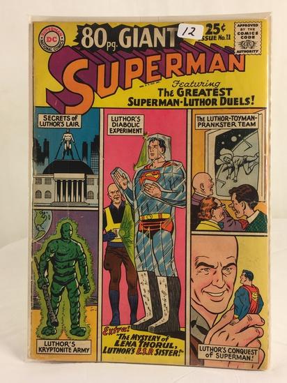 Vintage DC Superman National Comics 80 pg Superman-Luther Duels Comic No.11