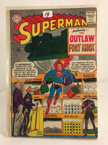 Vintage DC Superman National Comics Superman ft. Outlaw Fort Knox Comic No.179