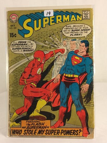 Vintage DC Superman National Comics Superman ft. The Flash Comic No.220