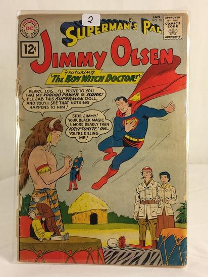 Vintage DC Superman National Comics Superman's Pal Jimmy Olsen Comic No.58