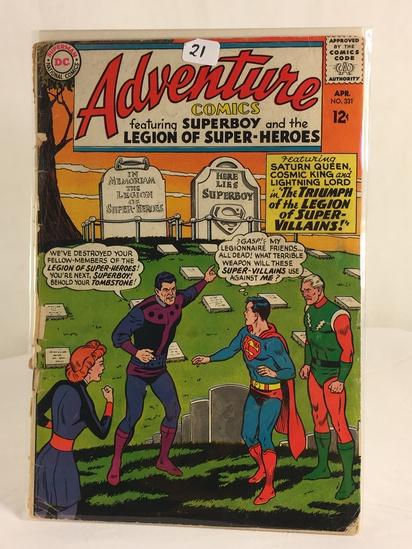 Vintage DC Superman National Comics Superboy & the Legion of Superheroes No.331