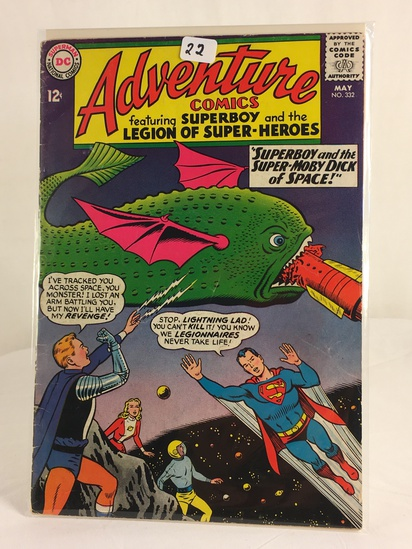 Vintage DC Superman National Comics Superboy & the Legion of Superheroes No.332