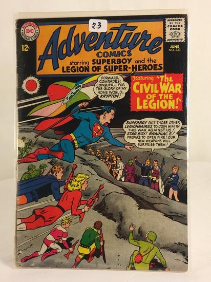 Vintage DC Superman National Comics Superboy & the Legion of Superheroes No.333