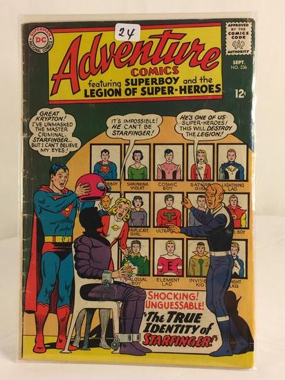 Vintage DC Superman National Comics Superboy & the Legion of Superheroes No.336