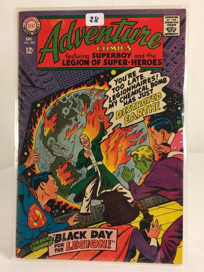Vintage DC Superman National Comics Superboy & the Legion of Superheroes No.363