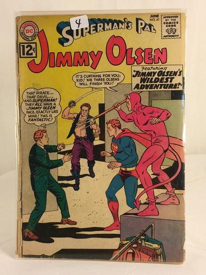 Vintage DC Superman National Comics Superman's Pal Jimmy Olsen Comic No.61
