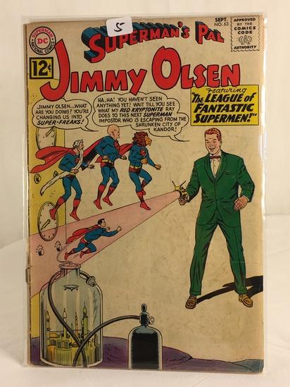 Vintage DC Superman National Comics Superman's Pal Jimmy Olsen Comic No.63