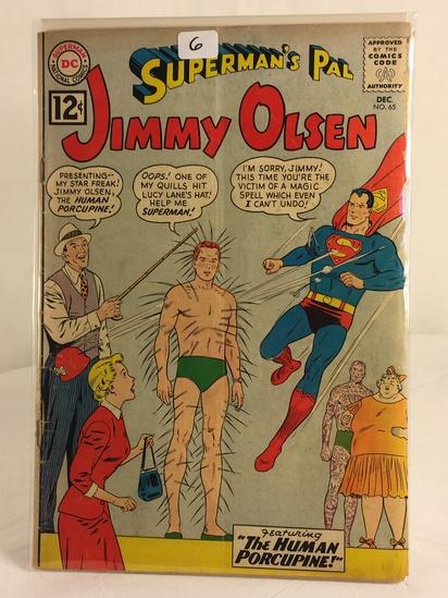 Vintage DC Superman National Comics Superman's Pal Jimmy Olsen Comic No.65