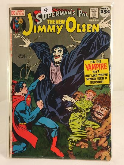 Vintage DC Superman Comics Superman's Pal The New Jimmy Olsen Comic No.142