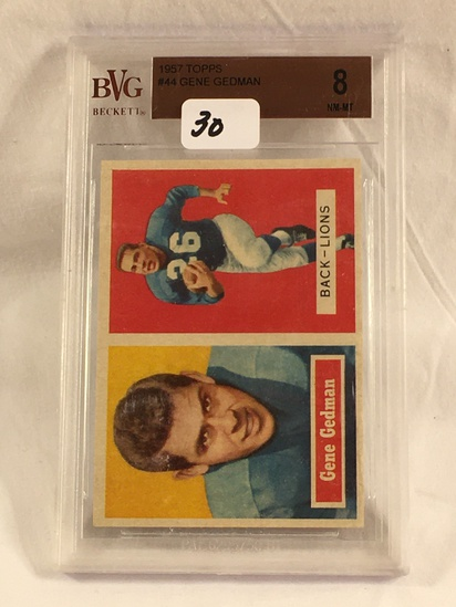 COLLECTOR MIXED GRADED SPORT CARD & LOOSE VINTAGE