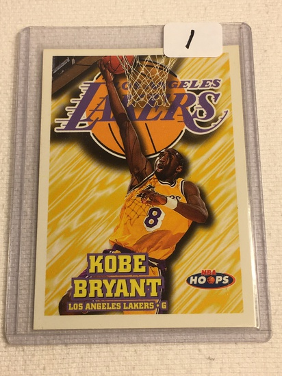 Collector 1997 Skybox LA Lakers Kobe Bryant Basketball Card No.75