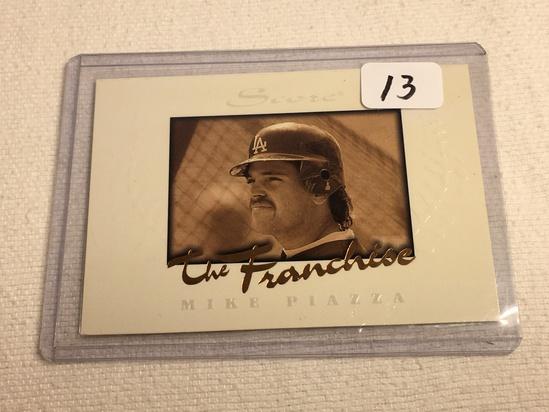 Collector 1996 Pinnacle LA Dodgers Mike Piazza Baseball Card No. 5