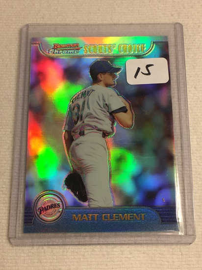 Collector 1999 Topps San Diego Padres Matt Clement Baseball Card No. 12