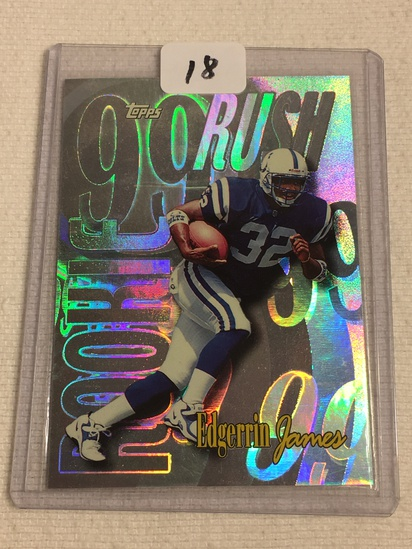 Collector 1999 Topps Indianapolis Colts Edgerrin James Football Card No. 23