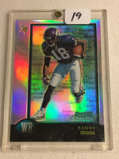 Collector 1998 Topps Minnesota Vikings Randy Moss Football Card No. 182