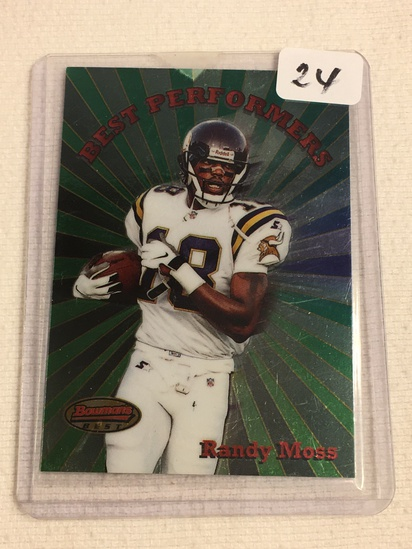 Collector 1998 Topps Minnesota Vikings Randy Moss Football Card No. 5
