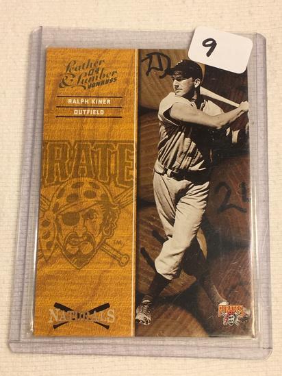 Collector 2004 Donruss Pittsburgh Pirates Ralph Kiner Baseball Card No. 6