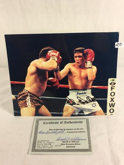 "Collector Sport Boxing Photo Autographed by Dana Rosenblatt 8X10"" w/ COA"