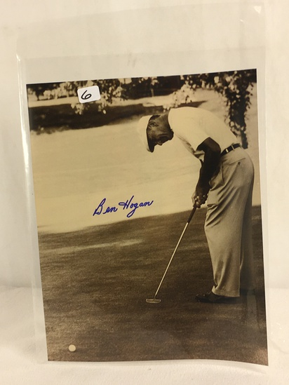 """Vintage Collector Sport Photo Hand Signed by Ben Hogan 8X10"""""""