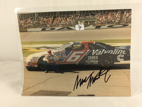 """Collector Sport Racing Photo Autographed 8X10"""" - See Pictures"""