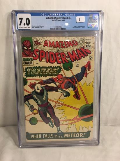 Collector CGC Universal Grade Amazing Spider-man #36 Marvel Comics 5/66 Graded 7.0