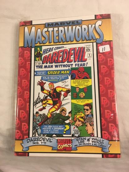 Collector Marvel Masterworks Hardcover Book Vol. I Feature Daredevil #1-11 Signed #0424