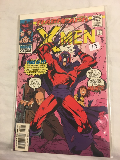 Collector Marvel Comics X-Men #1 Hand Signed Autographed Limited Series W/Coa