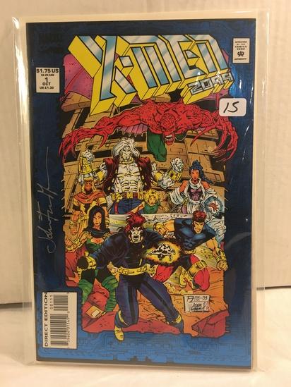 Collector Marvel Comics X-Men 2099 #1 Signed Autographed Comic Book W/Coa