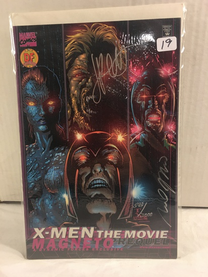 Collector Marvel Comics X-Man The Movie Hand Signed Autographed Comic Book W/Coa