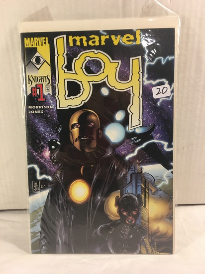 Collector Marvel Comics Marvel Boy #1 Dynamic Forces Exclusive Cover Comic Book W/Coa