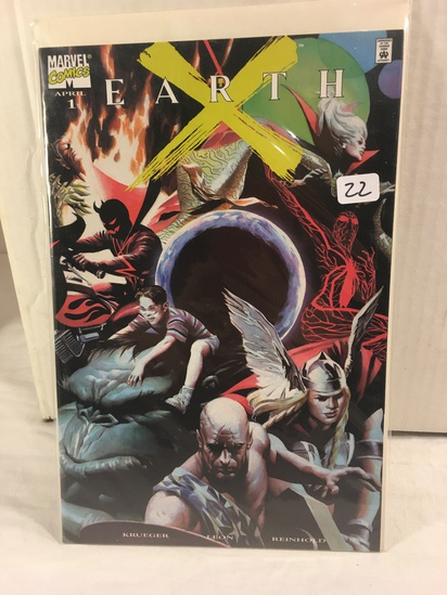 Collector Marvel Comics Earth #1 Dynamic Forces Exclusive Alternate Cover Comic Book W/Coa