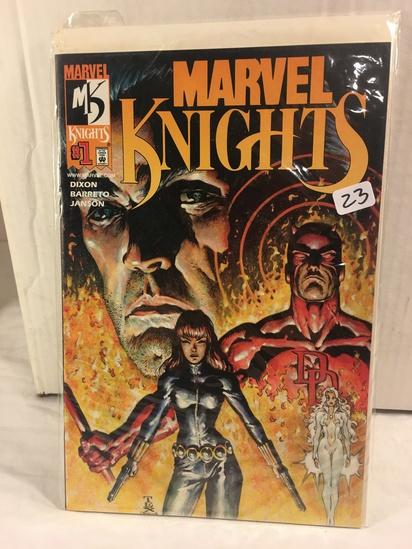 Collector Marvel Comics Marvel Knights #1 Dynamic Forces Exclusive Alternate Cover W/Coa