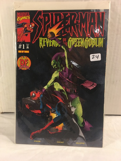 Collector Marvel Comics Spider-Man #1 Dynamic Forces Exlusive Cover Comic Book W/Coa