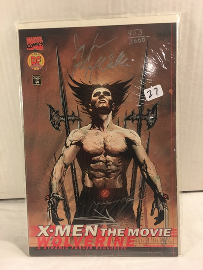 Collector Marvel Comics X-Men The Movie Hand Signed Autographed Limited Series W/Coa
