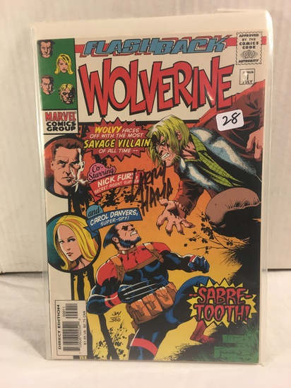 Collector Marvel Comics Wolverine #1 Hand Signed Autographed Limited Series W/Coa
