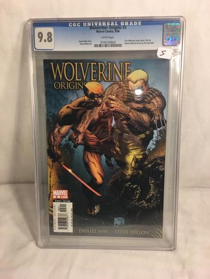 Collector CGc Universal Grade Wolverine Origins #3 Marvel Comics 8/06 Graded 9.8