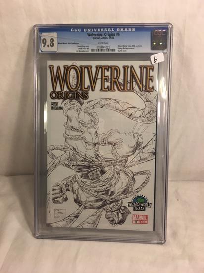 Collector CGC Universal Grade Wolverine Origins #6 Marvel Comics 11/06 Con Edt. Graded 9.8