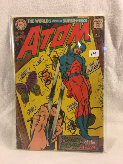 Collector Vintage DC Comics  Atom Comic Book No.35