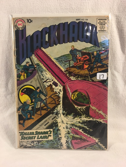 Collector Vintage DC Comics  Black Hawk Comic Book No.128