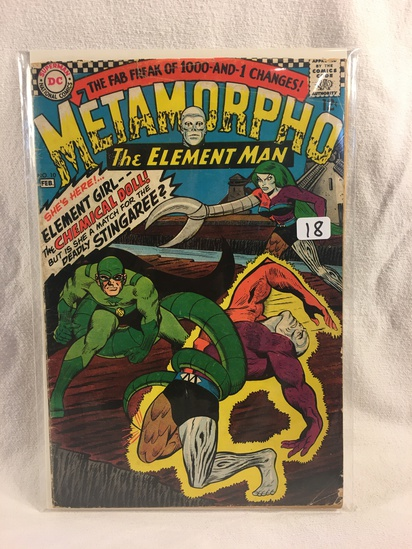 Collector Vintage DC Comics  Metamorpho The Element Man Comic Book No.10