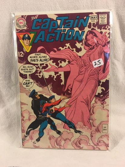 Collector Vintage DC Comics  Captain Action Comic Book No.4