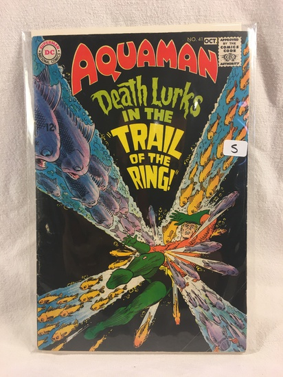Collector Vintage DC Comics Aquaman Comic Book No.41