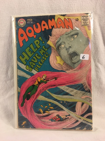 Collector Vintage DC Comics Aquaman Comic Book No.40