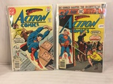 Lot of 2 Pcs Collector Vintage DC Comics  Action Comics Comic Books No.461.469.