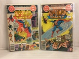 Lot of 2 Pcs Collector Vintage DC Comics  Superman Family Comic Books No.196.199.