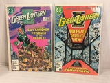 Lot of 2 Pcs Collector Vintage DC Comics The Green Lanternn Corps.   Comic Books No.204.205.