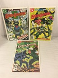 Lot of 3 Pcs Collector Vintage DC Comics  The Green Lantern Corps. Comic Books No.206.207.222.